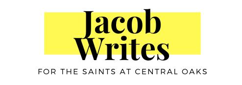 Pastor Jacob's Blog
